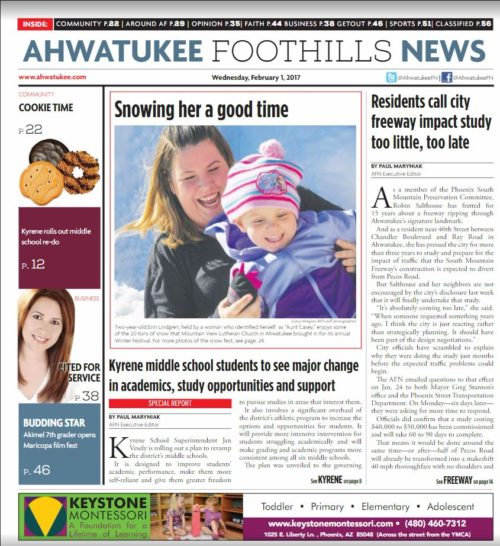 Ahwatukee Foothill News