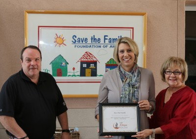Save the Family Check Presentation