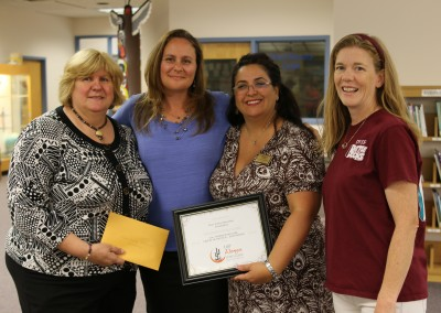 Deer Valley Education Foundation Check Presentation