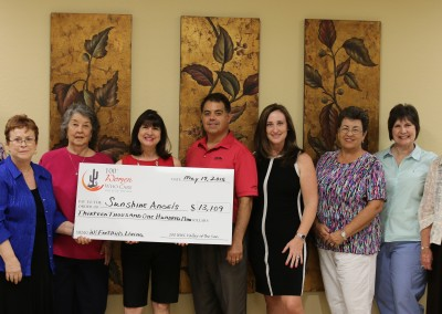 Sunshine Angels Check Presentation