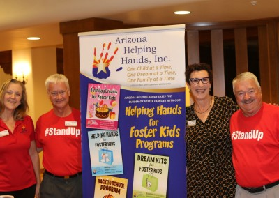 Arizona Helping Hands at our quarterly meeting