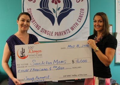 Singleton Moms Check Presentation